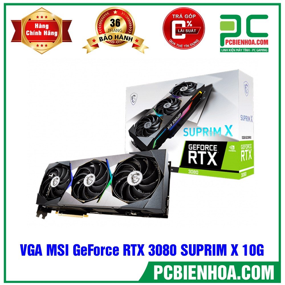 VGA MSI GeForce RTX 3080 SUPRIM X 10G