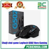 Chuột chơi game Logitech G502 Hero Gaming USB Black