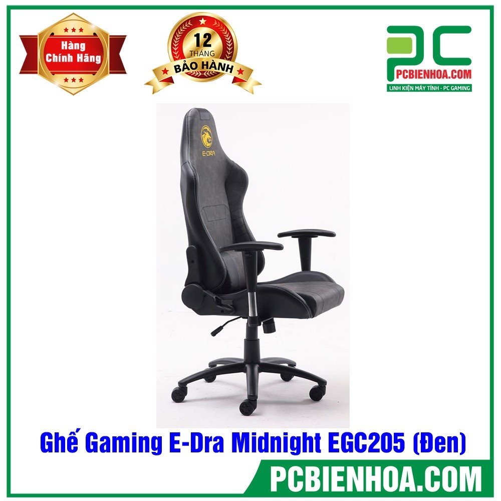 Ghế Gaming E-Dra Midnight EGC205 (Đen)