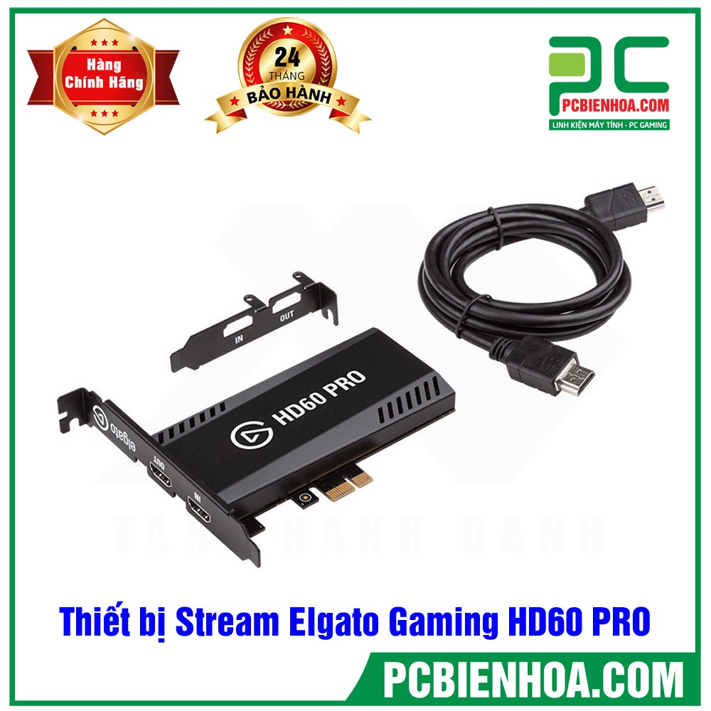 Thiết bị Stream Elgato Gaming Video Capture HD60 PRO 1GC109901002