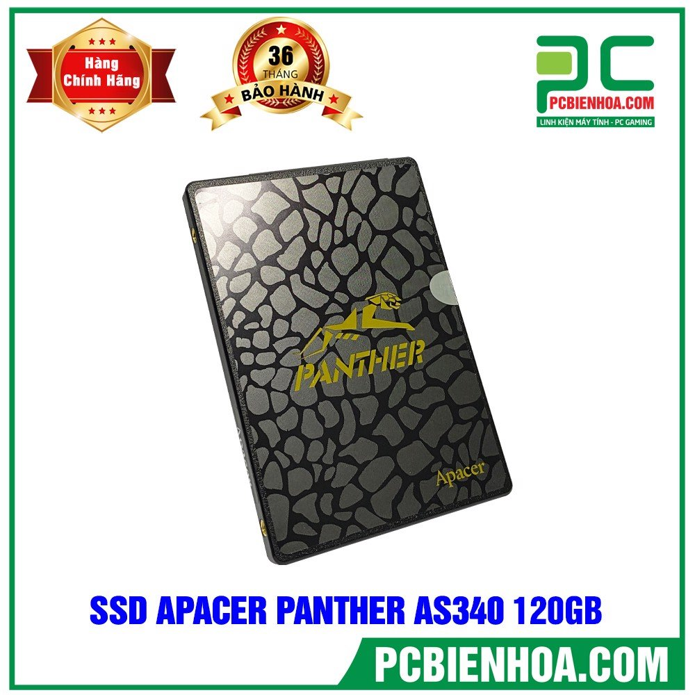 SSD Apacer Panther 120GB 2.5in SATA3 AS340