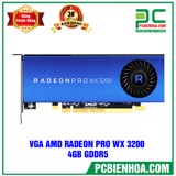 VGA AMD Radeon Pro WX 3200 4GB GDDR5 (BÁN KÈM PC) (AMD 14nm