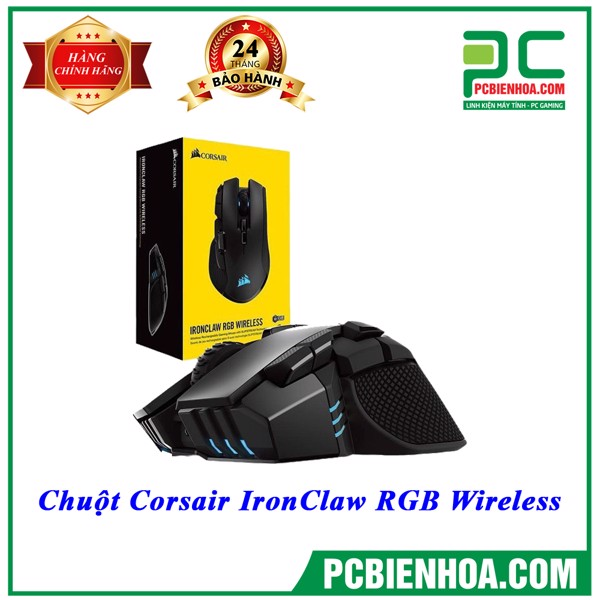 Chuột Corsair IronClaw RGB Wireless