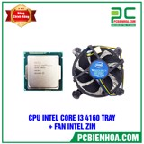 CPU INTEL Core I3 4160 TRAY + FAN ZIN