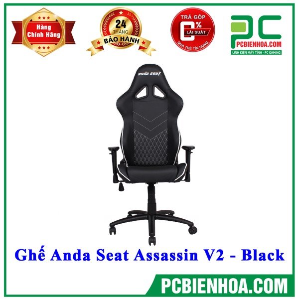 Ghế Anda Seat Assassin V2 - Black