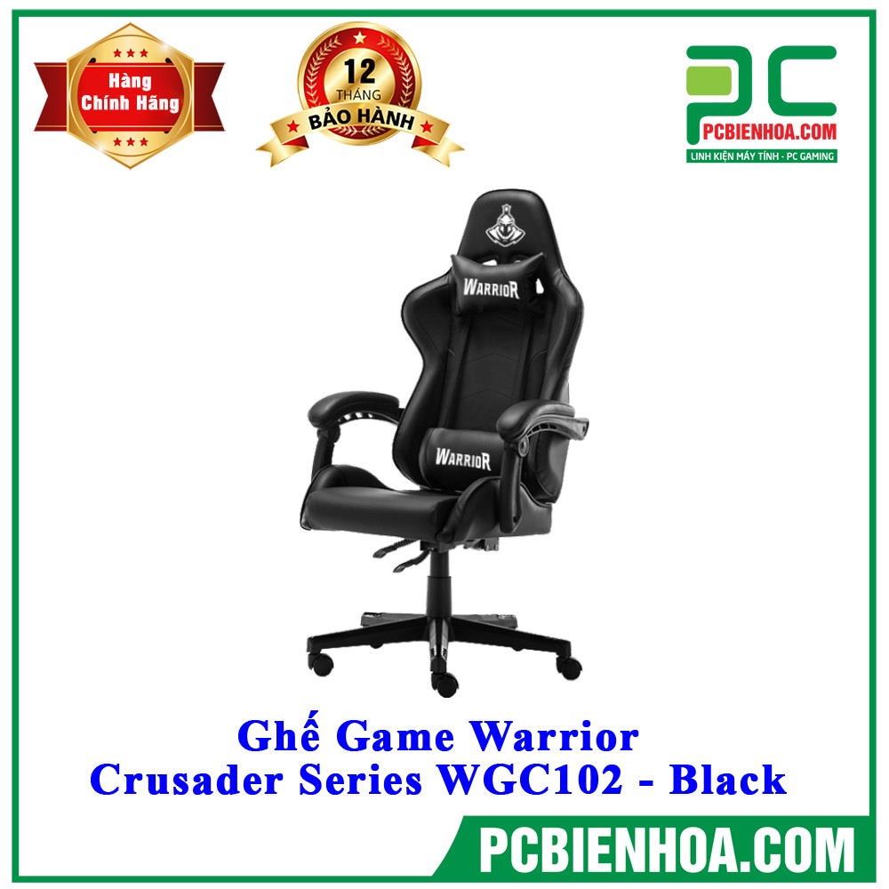 Ghế Game Warrior - Crusader Series WGC102 - Black
