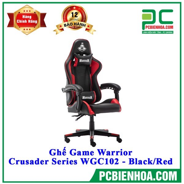 Ghế Game Warrior - Crusader Series WGC102 - Black/Red