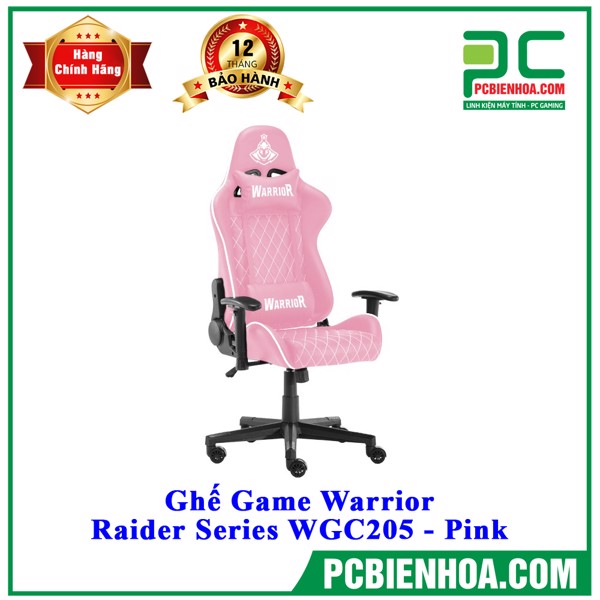 Ghế Game Warrior - Raider Series WGC205 - Pink