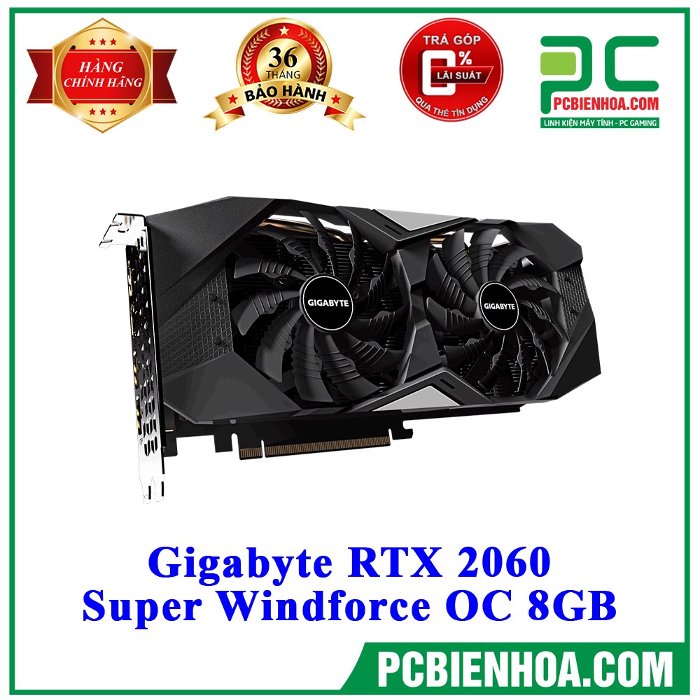 VGA Gigabyte RTX 2060 Super Windforce OC 8GB