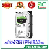 "HDD Seagate BarraCuda 6TB 5400RPM SATA 3.5""-ST6000DM003"