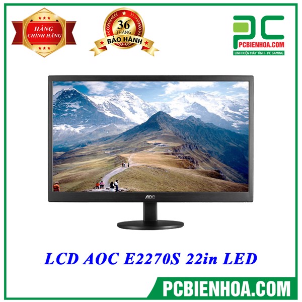 LCD AOC E2270S 22in LED