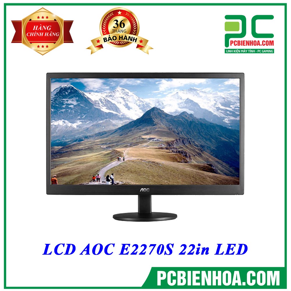 LCD AOC E2270SWN 22in LED