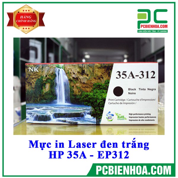 Mực in Laser đen trắng HP 35A - EP312