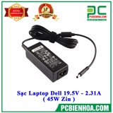 Laptop Dell 19.5V - 2.31A ( 45W Zin )