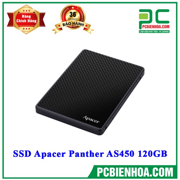 SSD Apacer Panther AS450 120GB