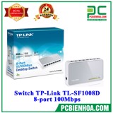 Switch TP-Link TL-SF1008D 8-port 100Mbps