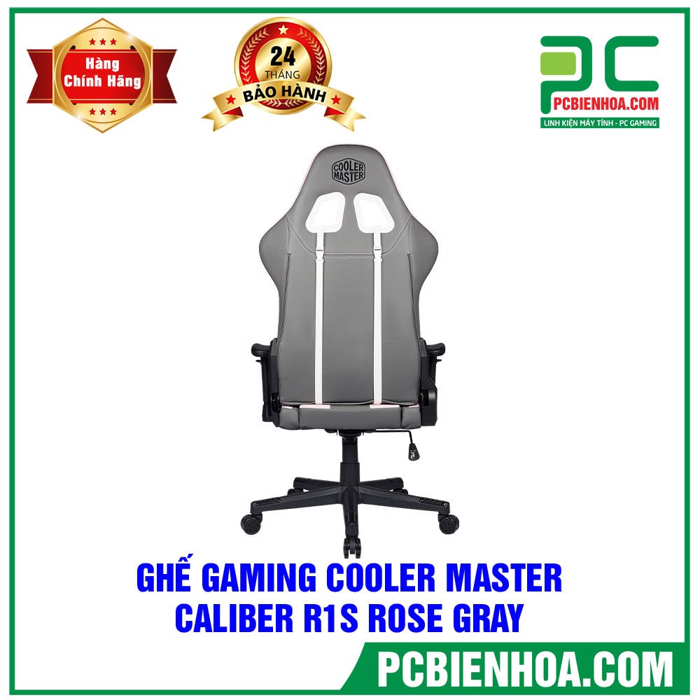GHẾ GAMING COOLER MASTER CALIBER R1S - ROSE GRAY