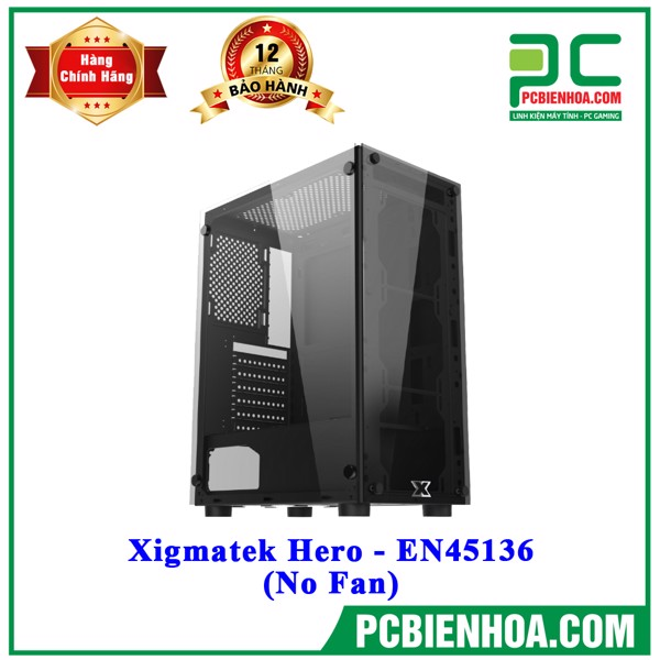 Case Xigmatek Hero - EN45136 (No Fan)