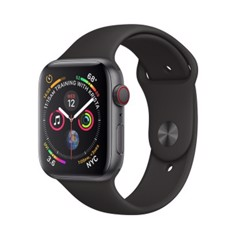 [Full Box] Apple Watch 4 44mm (4G) Viền Nhôm Xám – Dây Đen (Esim)
