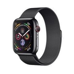 [Full Box] Apple Watch 4 44mm (4G) - Black/ Milanese Loop