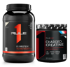Combo Rule 1 Protein 2.4lb & Rule 1 Charged Creatine 240g