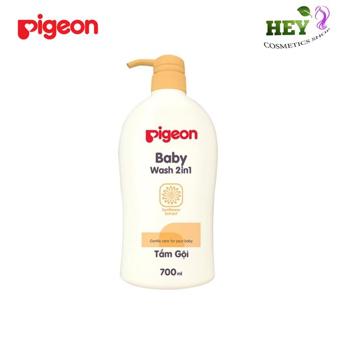 PIGEON TẮM GỘI HOA HƯỚNG DƯƠNG (2IN1)