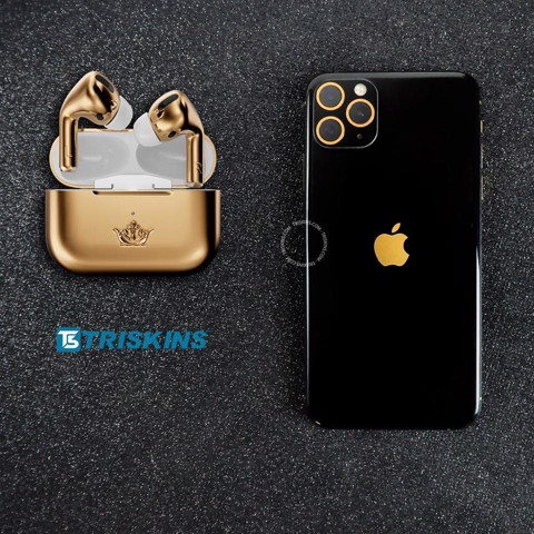 DÁN PPF - PPF GLOSS BLACK GOLD LIMITED - iPhone 11 Pro | 11 Pro Max