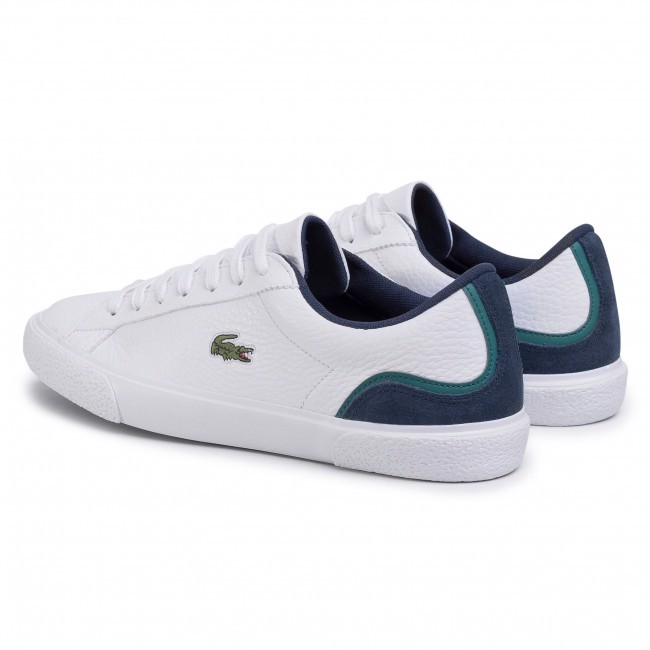Giày Lacoste Men's Lerond 120 3 Sneakers - White/Navy