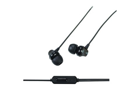 Aerpro 3.5mm Earphones w/ Mic - Black