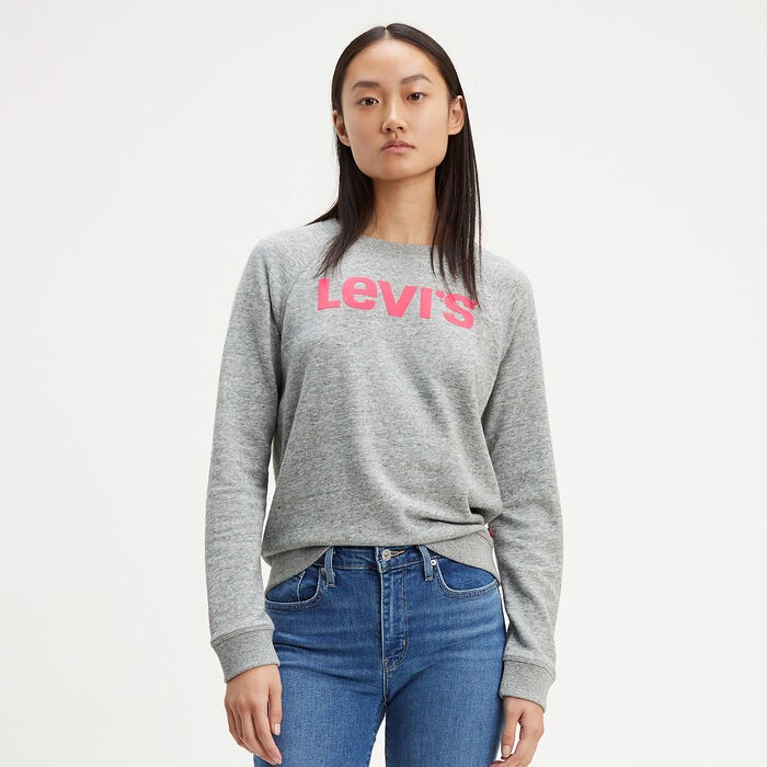 CLASSIC GRAPHIC CREW NECK SWEATSHIRT