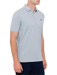 Mens Classic Fit Mesh Polo
