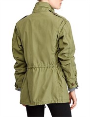 REVERSE CTN TWILL-MLTRY CMBT-COTTON-COAT