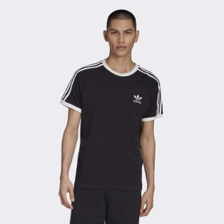 Áo nam Adidas Men's 3 Stripe Tee / T-Shirt / Tshirt - Black