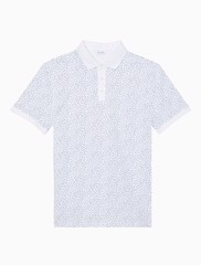 short-sleeve-micro-dot-print-polo