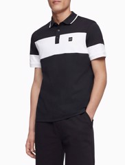 short-sleeve-rib-collar-polo