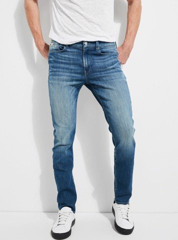 REGULAR-FIT DENIM JEANS - QUẦN NAM