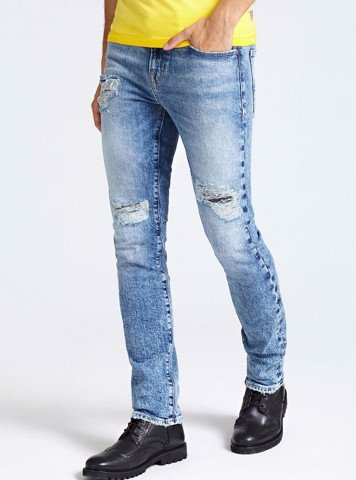 RIPPED SKINNY JEANS - QUẦN NAM