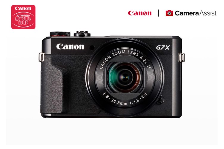 Canon Powershot G7X Mark II High Performance Digital Camera