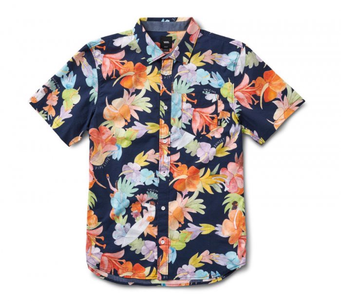 ALOHA SHORT SLEEVE SHIRT BLUE