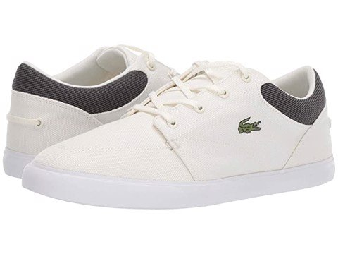Giày Lacoste Men's Bayliss 319 1 Sneakers - White/Black