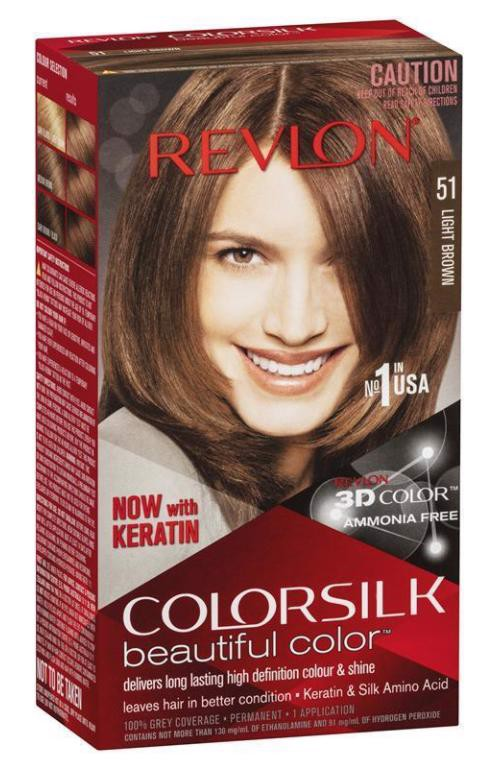 Revlon Colorsilk 51 Light Brown