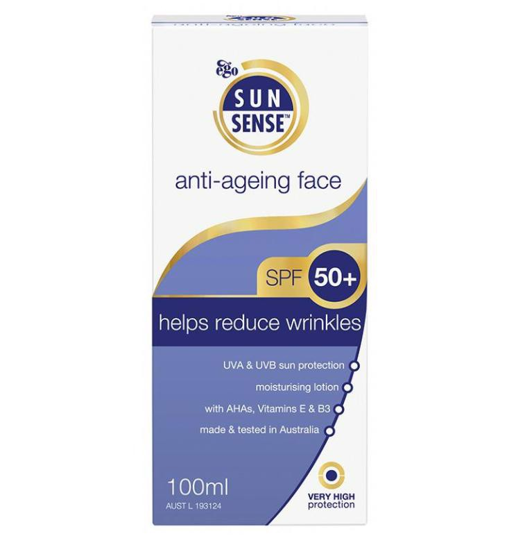 Sunsense Anti-Ageing Face spf 50+ Sunscreen 100Ml