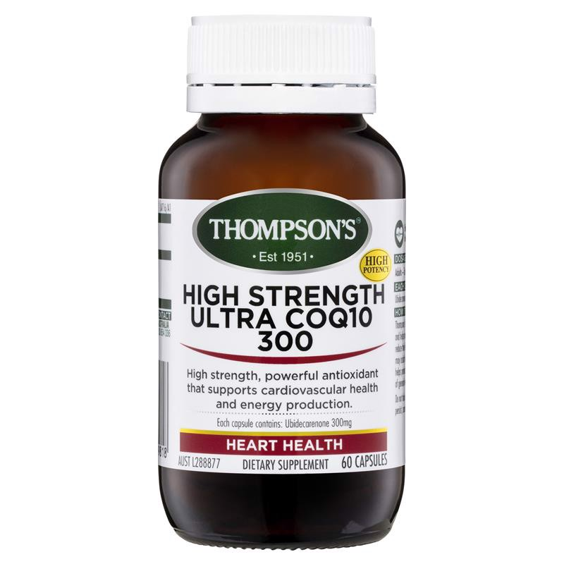 Thompson's CoQ10 300mg 60 Capsules