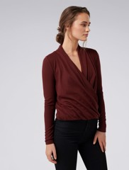 Georgina Wrap Front Top
