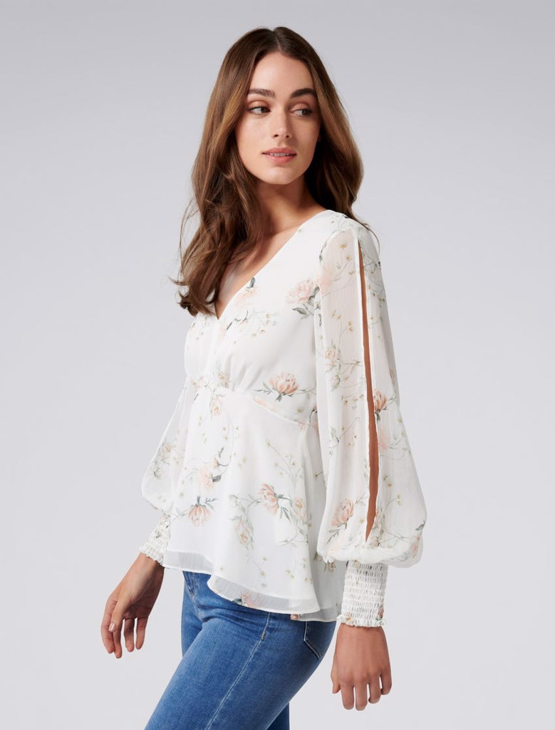 Selena Split Sleeve Blouse