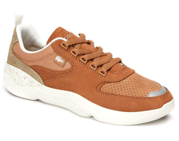 Giày Lacoste Men's Wildcard 419 1 Sneakers - Light Brown/Off White