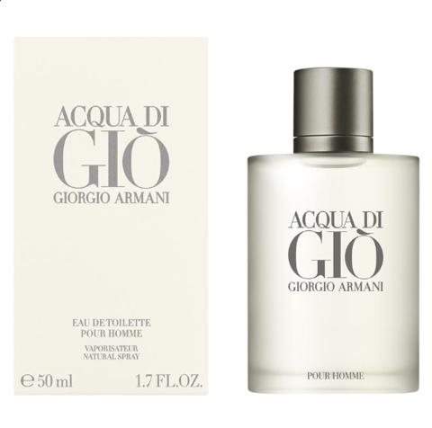 Nước hoa nam Acqua Di Gio for Men 50ml Eau de Toilette Spray