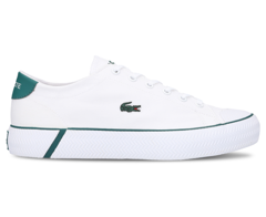 Giày Lacoste Women's Gripshot 120 2 CFA Canvas Sneakers - White/Green