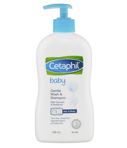 Cetaphil Baby Gentle Wash and Shampoo 400ml