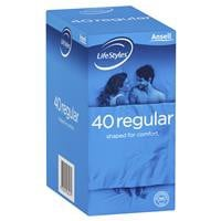 Ansell Lifestyle Regular 40 Pack